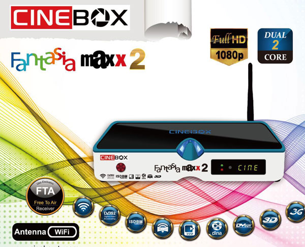 Receptor Cinebox Fantasia